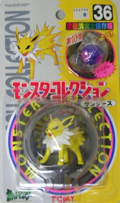 Jolteon Pokemon figure Tomy Monster Collection series