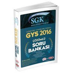 Data GYS SGK Kral Kızı Serisi Sosyal Güvenlik Kurumu Çözümlü Soru Bankası (2016)