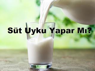 Süt Uyku Yapar Mı?