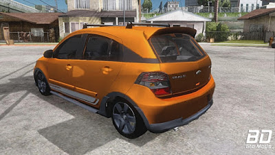 Mod , Carro, Chevrolet Agile Crossport Edition para GTA San Andreas, GTA SA