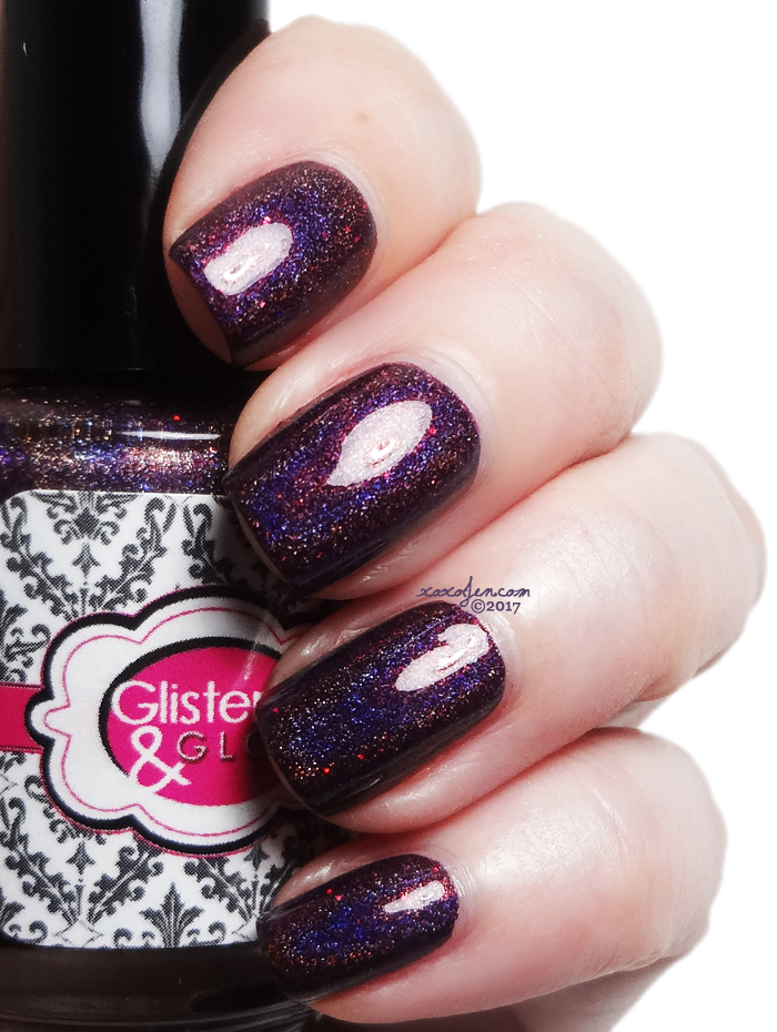 xoxoJen's swatch of Glisten & Glow A Raisin to Believe