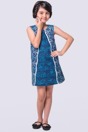 10 Model Baju Batik Anak Perempuan Modern Terbaru 2017