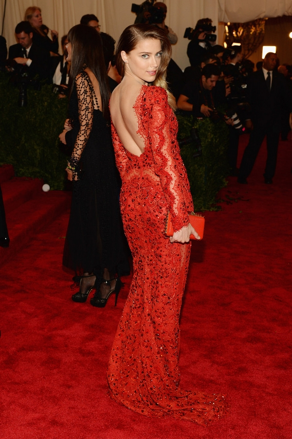 Amber Heard Met Gala dress Emilio Pucci