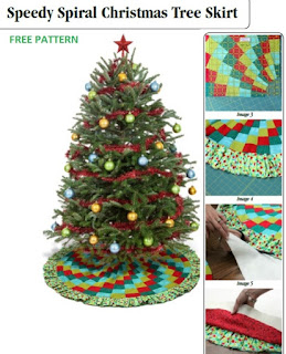 Free Sewing Pattern Christmas Tree Skirt