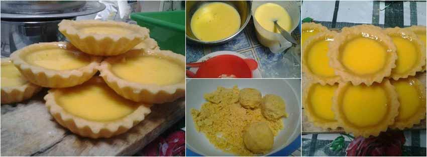 Resep Membuat Kue Eggtart Atau Pie Susu Homemade by Rumaisa Achsanudin