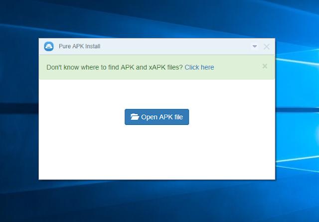 memasang aplikasi android melalui komputer atau laptop