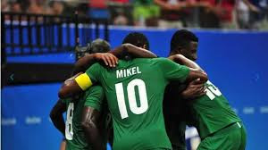 Mikel scored and celebrates