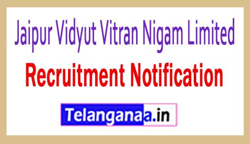 Jaipur Vidyut Vitran Nigam Limited JVVNL Recruitment