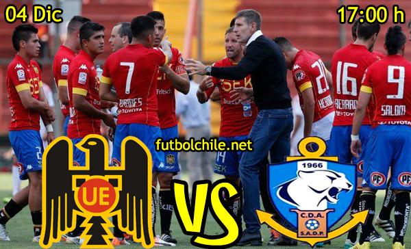 Ver stream hd youtube facebook movil android ios iphone table ipad windows mac linux resultado en vivo, online: Unión Española vs Deportes Antofagasta