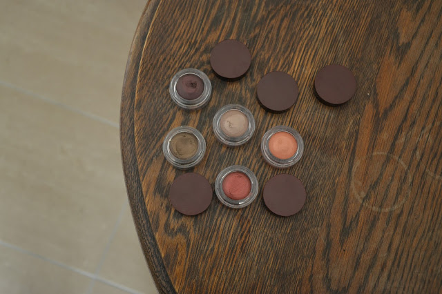 Review: Nabla Cosmetics Crème Shadow in Dusk, Entropy, Rea, Supreme & Caffeine
