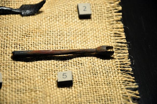 wczesnośredniowieczna strzała z Ostrowa Lednickiego