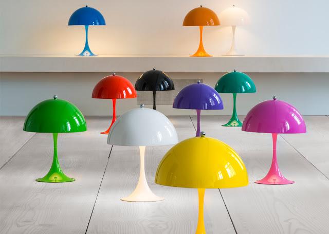Новости дизайна. Louis Poulsen выпускает красочную мини-версию светильника Panthella