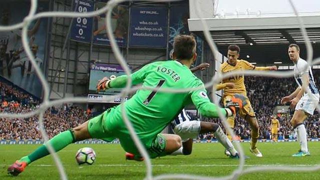 [Video] Cuplikan Gol West Brom 1-1 Tottenham (Liga Inggris)