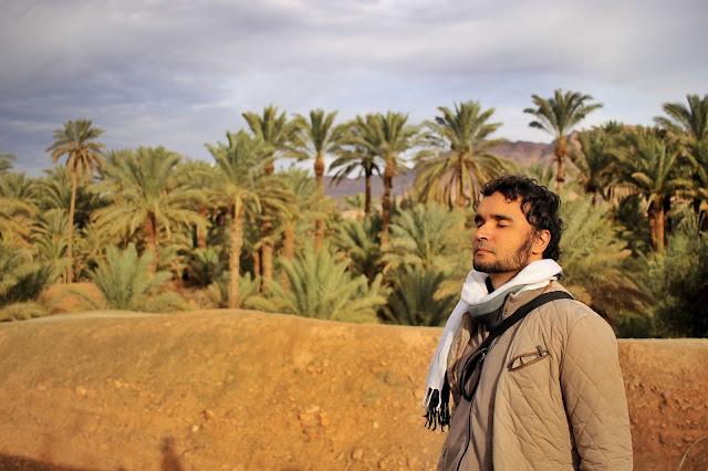 Paisagem típica do Deserto de Zagora.