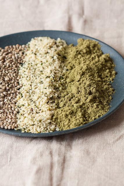 Konoplja - oljuštene i neoljuštene semenke i konopljin protein