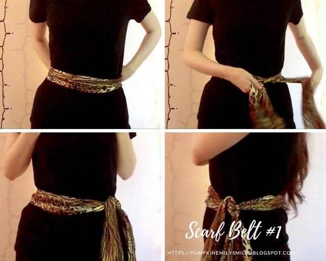 Scarf Belt #1 Belt Around Waist