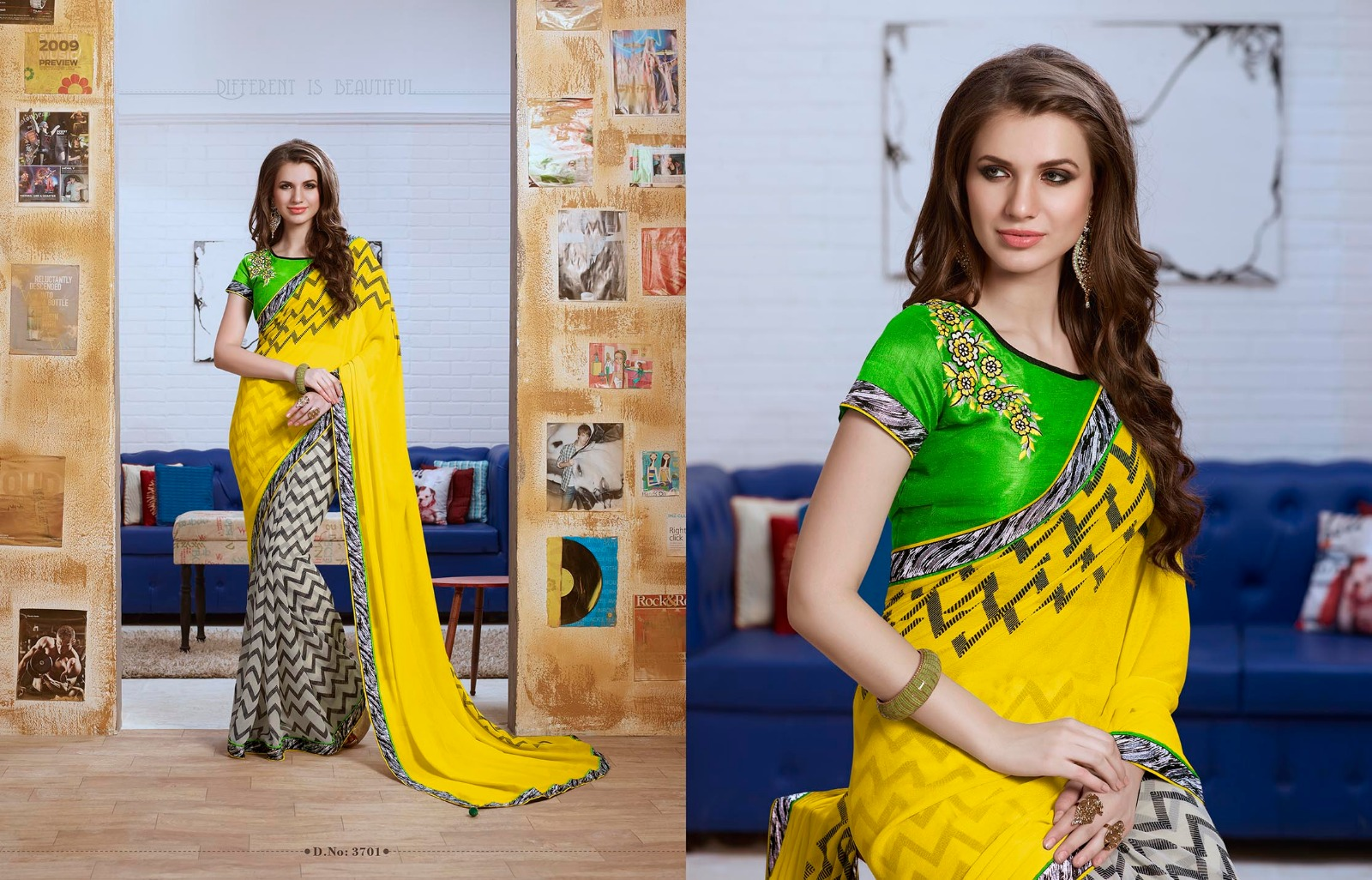 Kangna Vol 2 – Traditional Embroidery Designer Saree Exporter