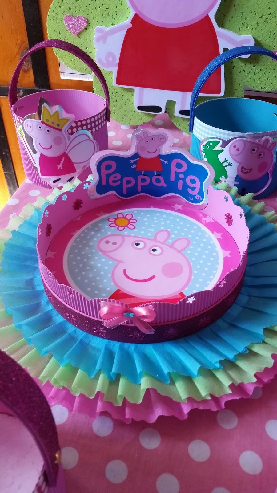 Decoraciones infantiles peppa pig - Decoracion fiesta de cumpleanos infantil ...