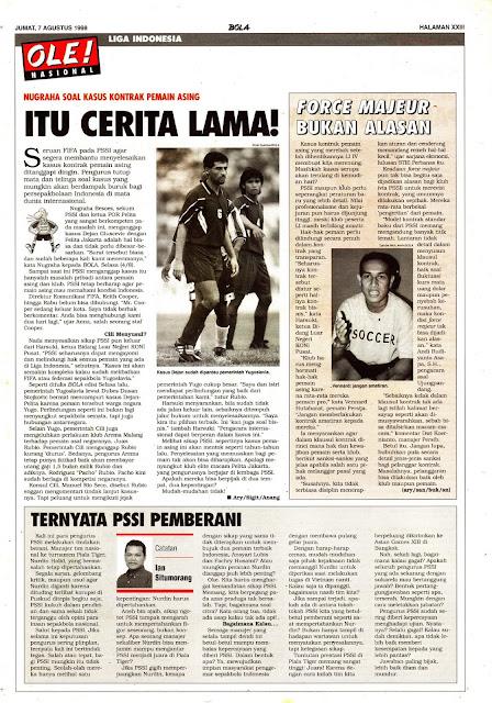 KASUS KONTRAK PEMAIN ASING LIGA INDONESIA