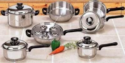 merawat dan membersihkan alat masak stainless steel