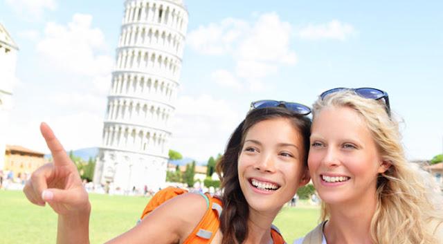 Ingressos para a excursão à Pisa