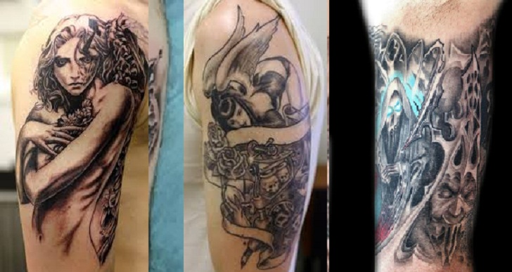 Gambar Tattoo Di Punggung ( Full Body ) Terbaru Dan Asli Keren