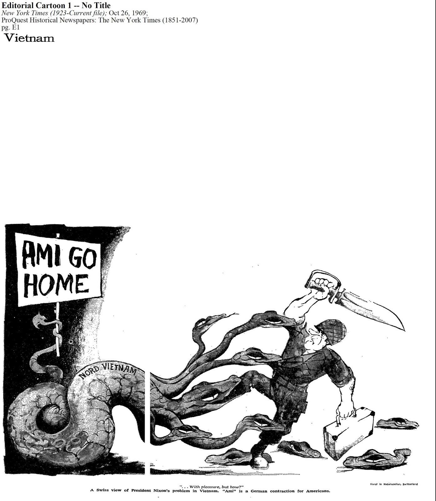 The Vietnam War: One of America's Regrets: DBQ: Political