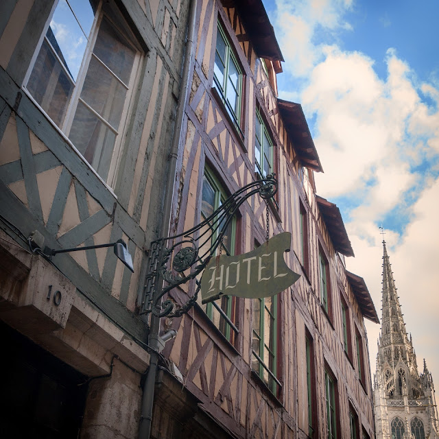 medieval rouen colombages