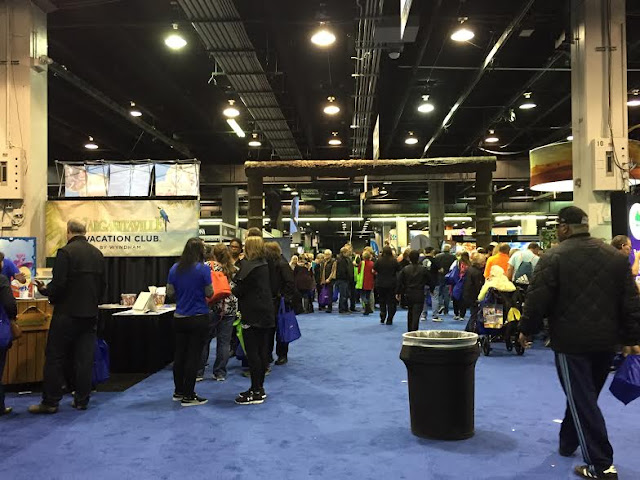 Hitting the expo floor at the Chicago Travel and Adventure Show.