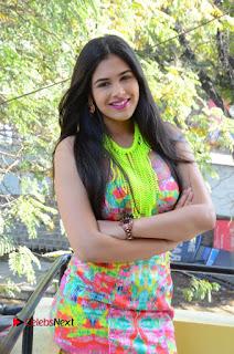 Telugu Actress Prasanna Stills in Short Dress at Inkenti Nuvve Cheppu Press Meet Stills  0061.JPG
