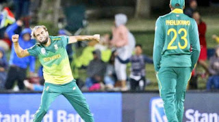 Tahir 5 wickets, South Africa defeated Zimbabwe in the first T-20