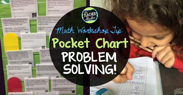 Using word problems in math workshop