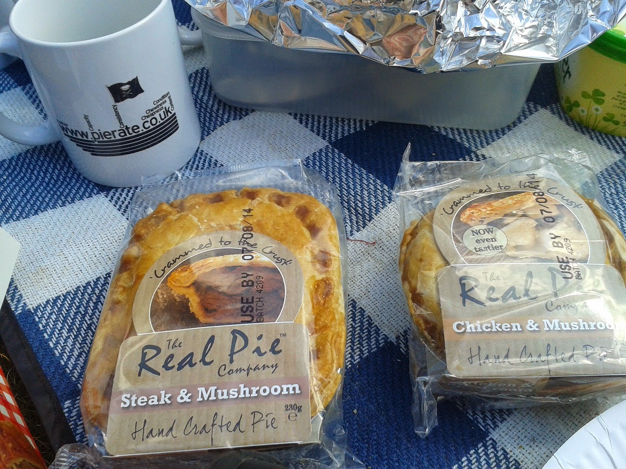 The Real Pie Company Pie Review