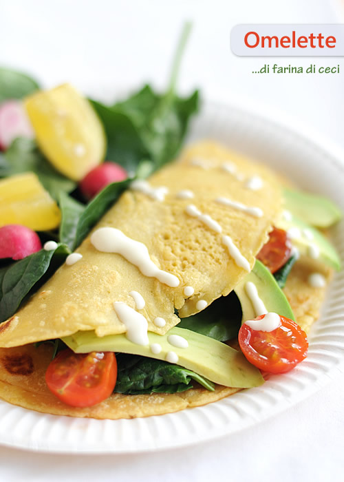 search results omelette di farina di ceci fiordizucca cibo