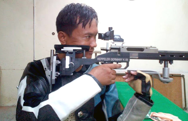 Ace Gorkha Shooter Mr. Sisir Rai from Gitdabling Kalimpong‬