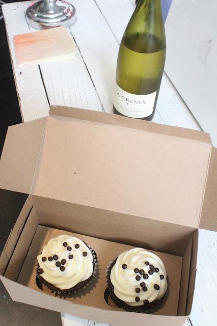 Cupcakes and Wine Rue Atelier Berkeley Shopping Trip