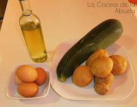 Tortilla de Calabacín y Patata.