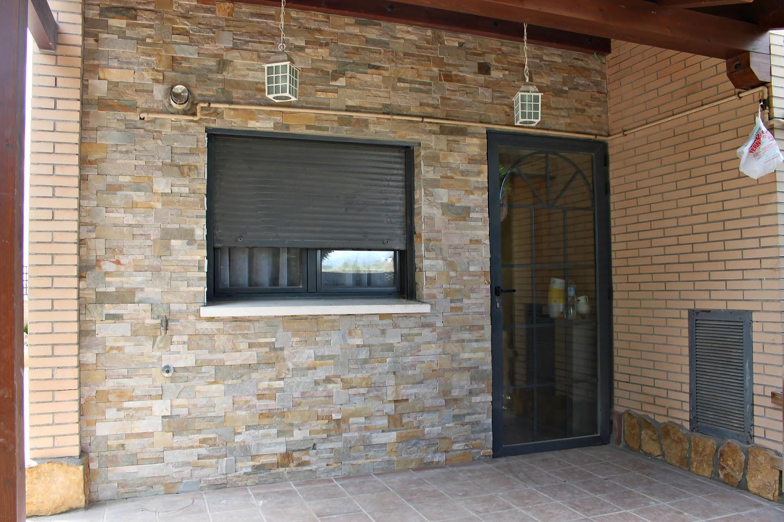 Zocalos de fachadas gallery of free piedra laja color - Piedra para fachada exterior ...