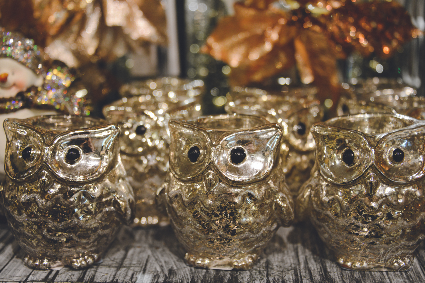 owls holiday decorations