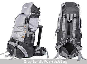 Bendly Rucksack Bag for Rs.799 Only @ Nearbuy