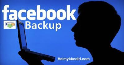 Cara Backup Semua Data diFacebook