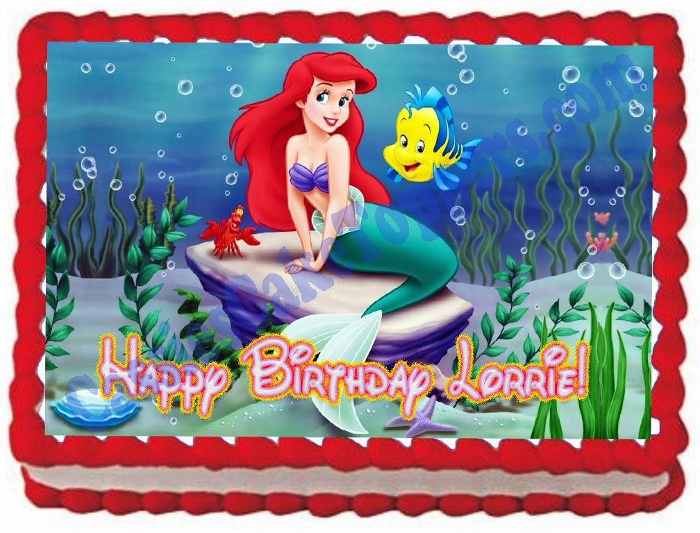 Disneys Little Mermaid Themed Party Supplies and Ideas Fun