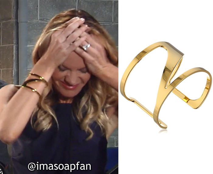 Nina Reeves, Michelle Stafford, Cutout Cuff Bracelet, Vince Camuto, General Hospital, GH