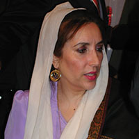 June 21 – Benazir Bhutto