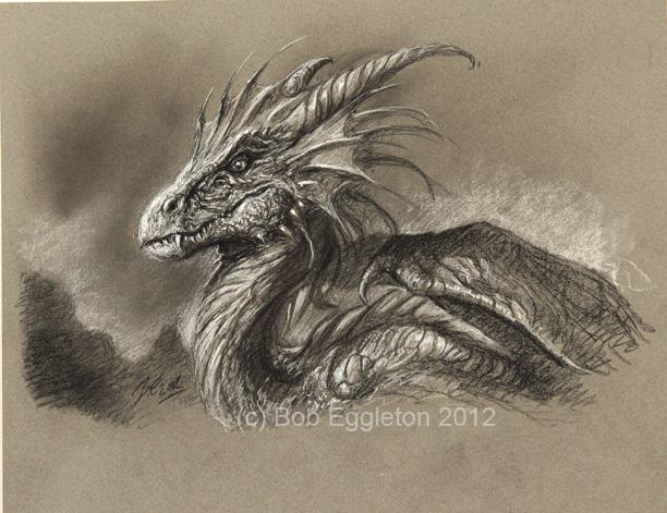 Bob S Art Du Jour The Sitting Dragon