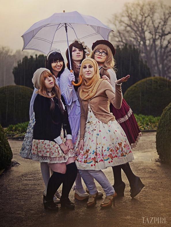 Anime Yang Berhijab Muslimah Berpakaian Kini Trending Di Jepun