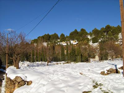 clima, Beceite, nieve, frío, nevada, está nevando, Beseit, neu, tosquera, cova del aire