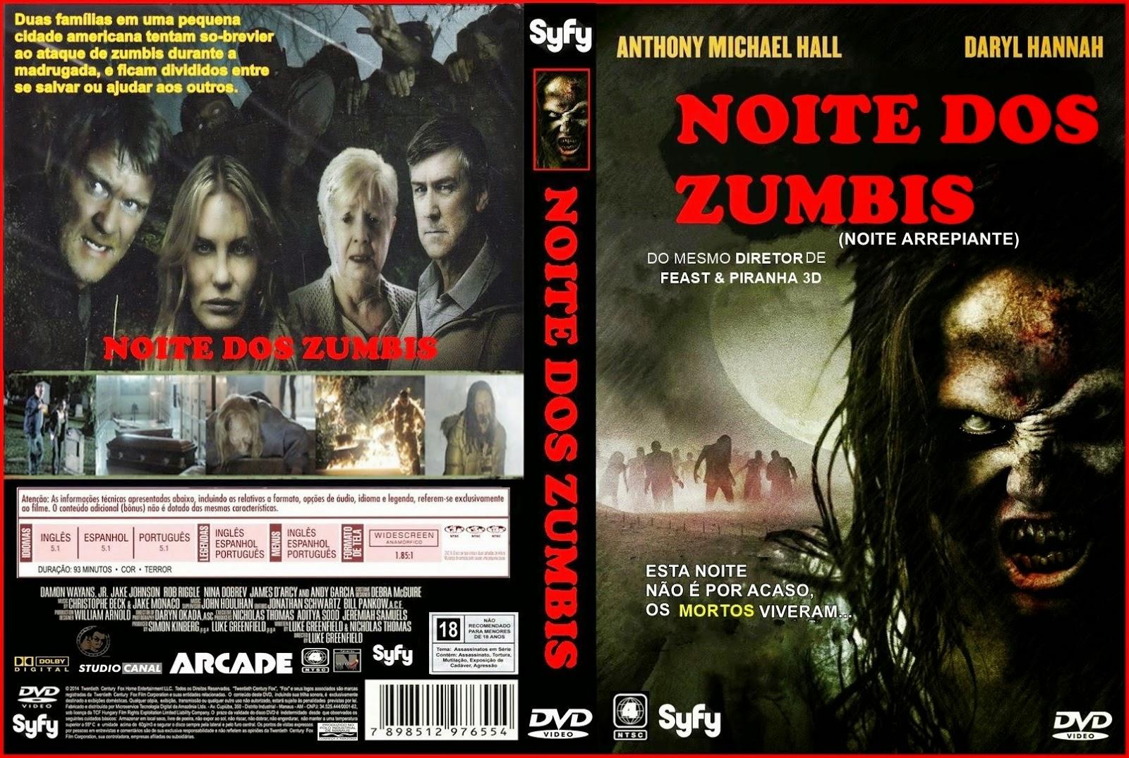 Poster do filme Noite dos Zumbis