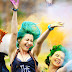 "Mezcla de color y música en ""Holi Sun Festival of Colors"""