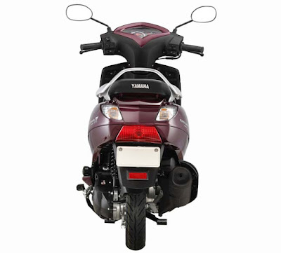 Yamaha Alpha Scooter rear Hd image